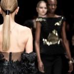 Kathrin Garburg Partner La Biosthetique Mercedes Benz Fashion Show Marc Cain