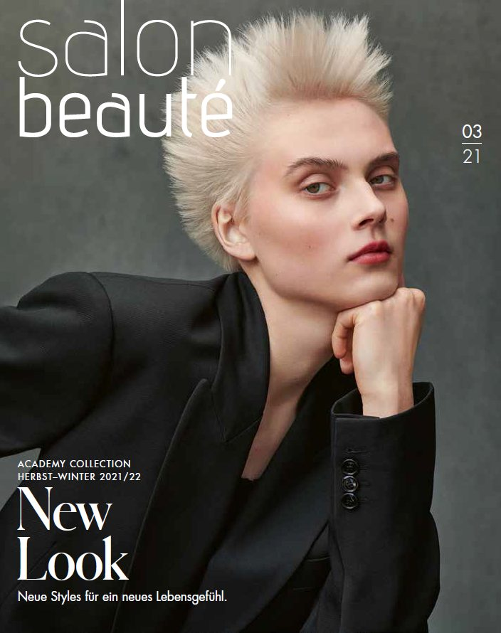 Zur aktuellen Salon Beauté Zeitschrift